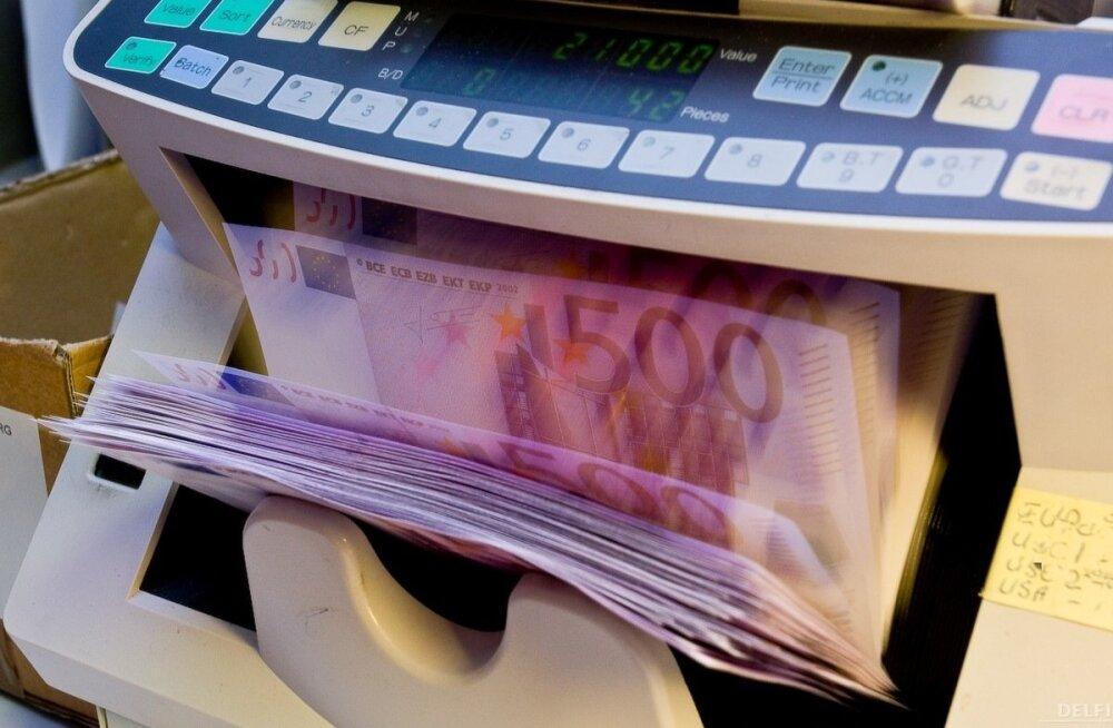 Riigikassa müüs 200 miljoni väärtuses lühiajalisi võlakirju