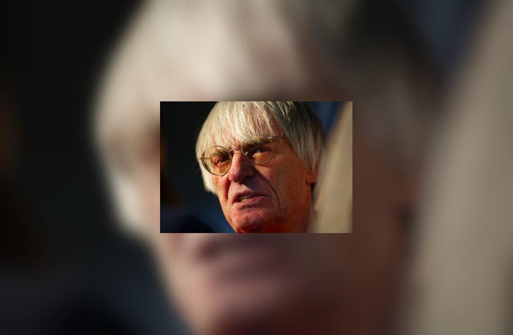 Bernie Ecclestone Austraalia GP-l
