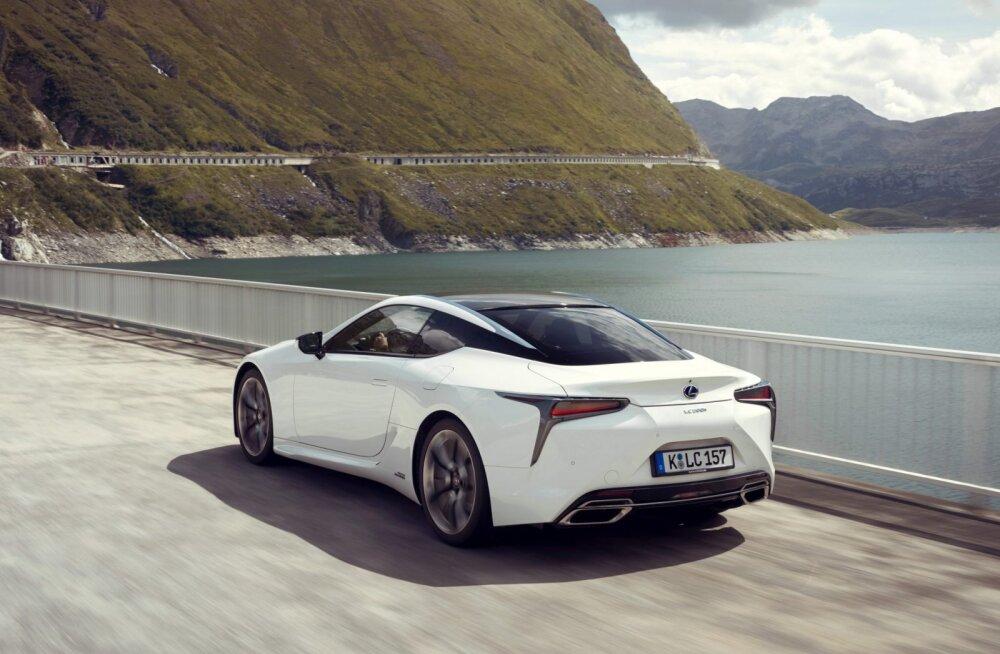 Pikk proovisõit: Lexus LC – Gran ja Turismo kogu oma hiilguses