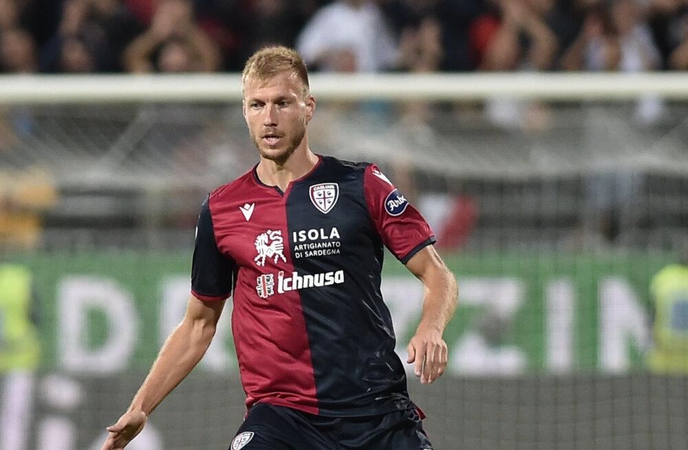 Võimsas hoos Cagliari tõusis Meistrite Liiga kohta jagama, Klavanilt täismäng