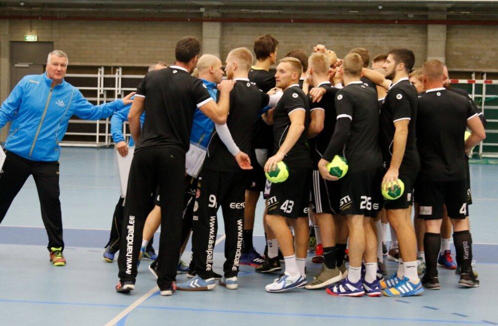 Meeste käsipallikoondis koguneb esmaspäeval