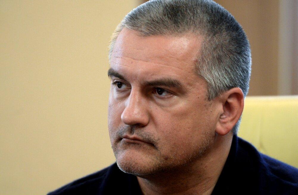Krimmi juht Aksjonov: terrorikatsete taga seisab USA riigidepartemang