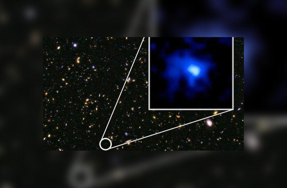 Leitud: ülikauge galaktika, mis sündis üsna varsti pärast universumi algust