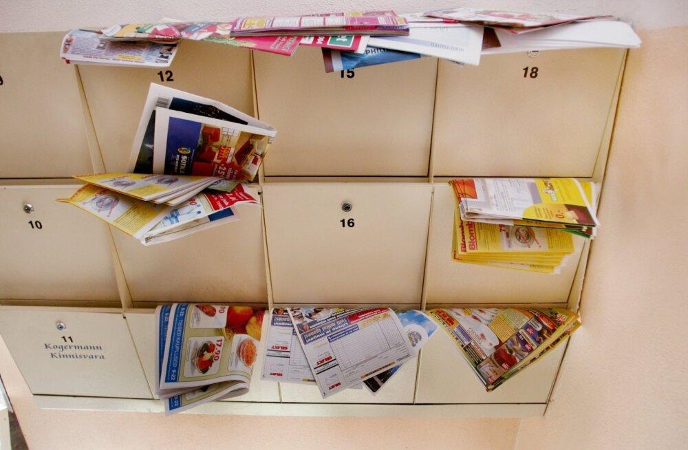 Omniva ühepoolne otsus avab tuhanded postkastid reklaamidele
