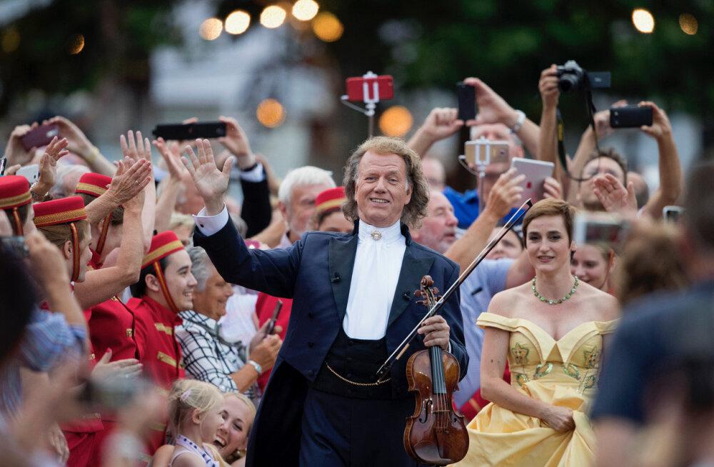 Valsikuninga André Rieu legendaarset suvekontserti näeb ka Eesti publik