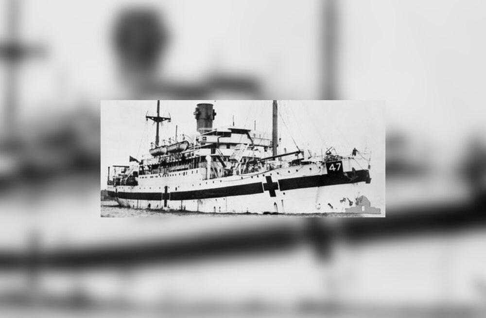 Leiti Teise maailmasõja ajal põhja lastud haiglalaev