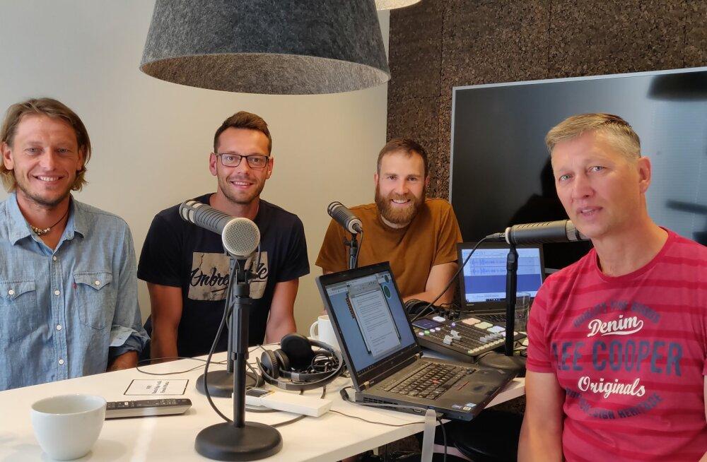 """Podcast """"Kuldne geim""""   Andrei Ojamets: minu emotsioon on plahvatuslik, aga siiras"""