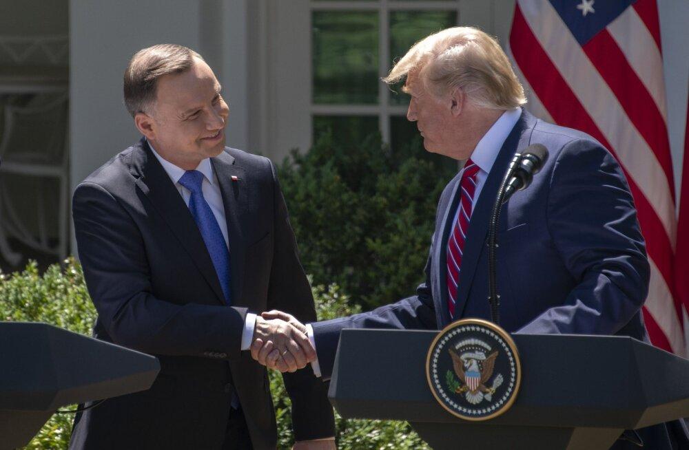 Presidendid allkirjastasid deklaratsiooni veel tuhande USA sõjaväelase Poolasse paigutamise kohta