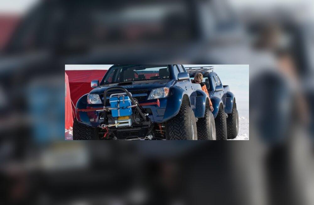 Toyota Hilux vallutas ka lõunapooluse