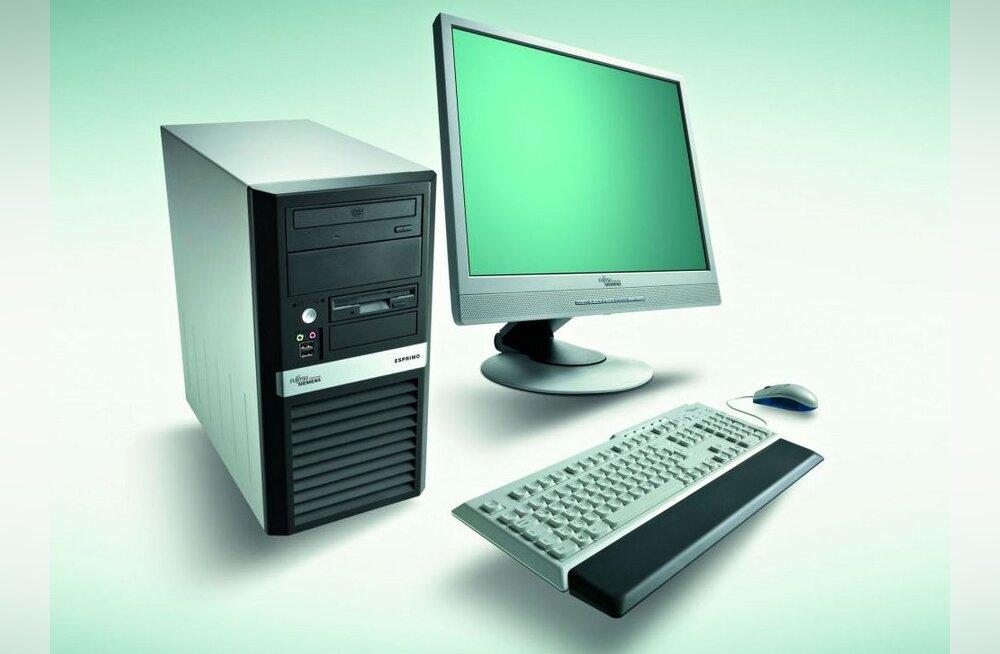 Fujitsu lauaarvutid tarbivad 45% vähem energiat
