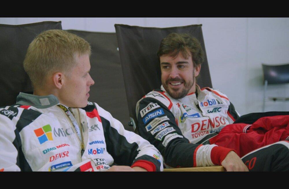 Ott Tänak ja Fernando Alonso