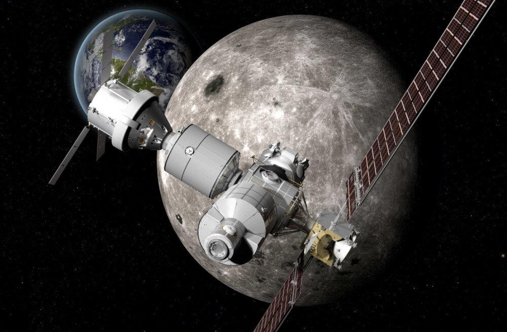 Juba enne 2024. aastat: kosmosejaamad Kuu pinnale ja teisele poole Kuud