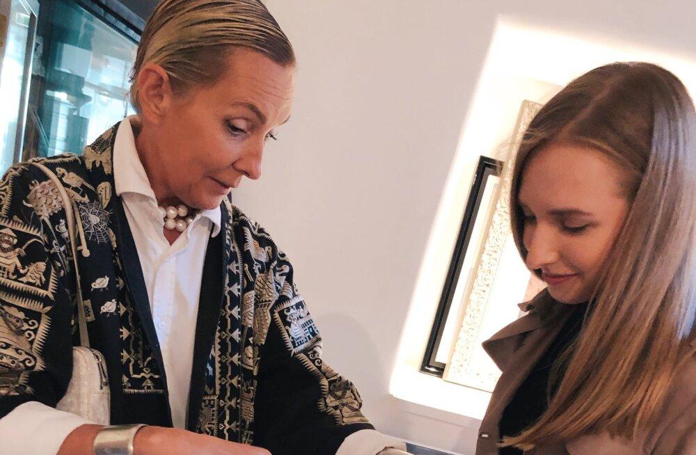 """""""Дырки на винтажных вещах — это не страшно!"""" Специалист по этикету с мировым именем Татьяна Полякова показала любимые вещи из своего гардероба на ярмарке винтажа"""