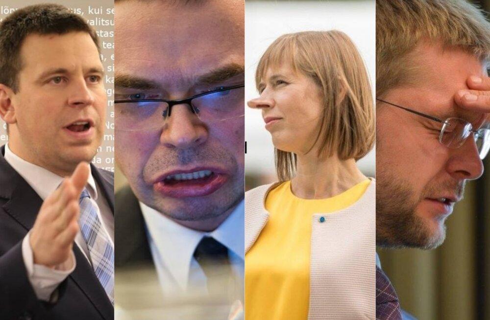 LUGEJA PILDID | Vaata, kuidas Delfi kommentaator Eesti poliitikuid pilab!