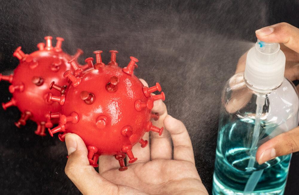Haiguspuhangu ajal tuleb ennast ja lapsi hoida desinfitseerimisvahenditest ja ravimitest põhjustatud mürgituste eest