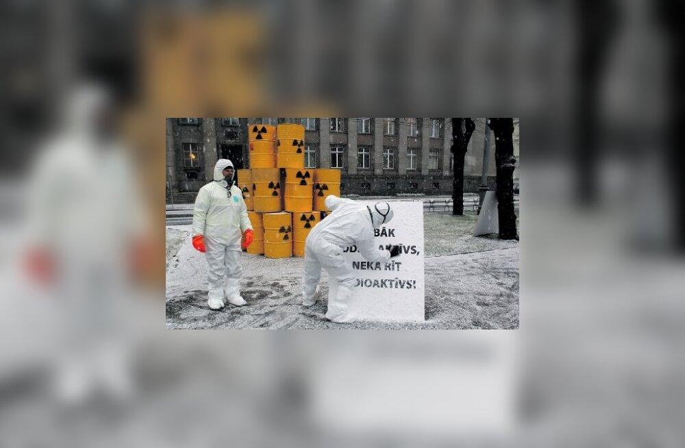 Leedu on ärevuses Kaliningradi tuumajäätmete meretranspordi pärast