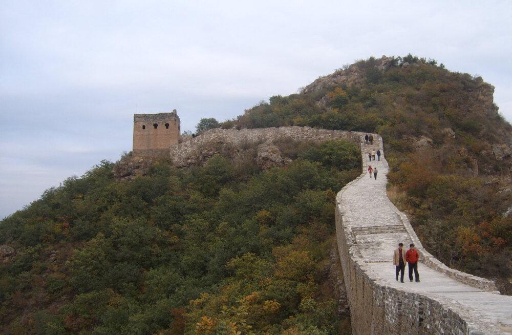 Suurt Hiina müüri püütakse taastada uudsel viisil