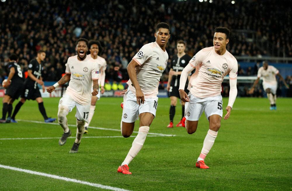 BLOGI | VAR otsustas mõlemas mängus! Manchester United tegi Pariisis uskumatu tagasituleku ning pääses edasi, Porto alistas lisaajal Roma