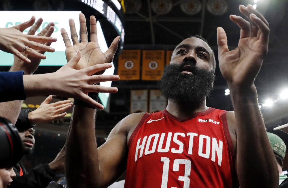VIDEO | Hardeni 42 punkti vedasid Rocketsi viienda järjestikuse võiduni