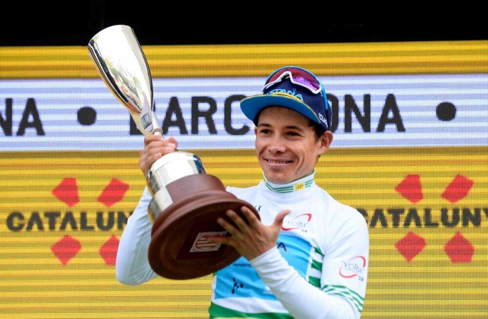 Kataloonia velotuuri võitja Miguel Angel Lopez