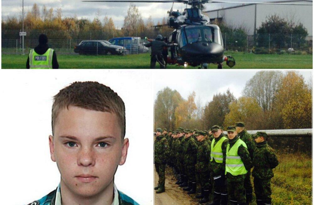FOTOD: Võrus nädalavahetusel kaduma läinud 17-aastase Markkuse otsinguteks luuakse staap