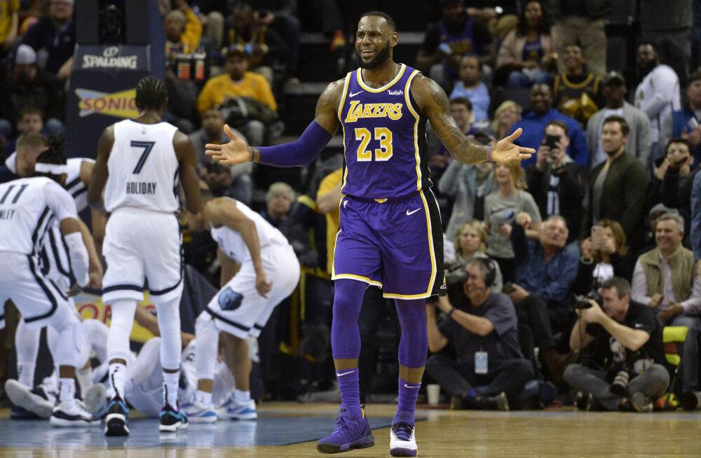 VIDEO | Hardeni imeseeria leidis lõpu, Lakersi play-off lootused said järjekordse suure löögi