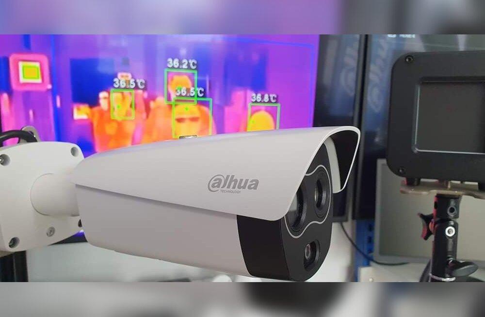 Turvalisus ennekõige! Nõudlus Dahua termoviisoriga kaamerasüsteemide järele on mitmekümnekordistunud
