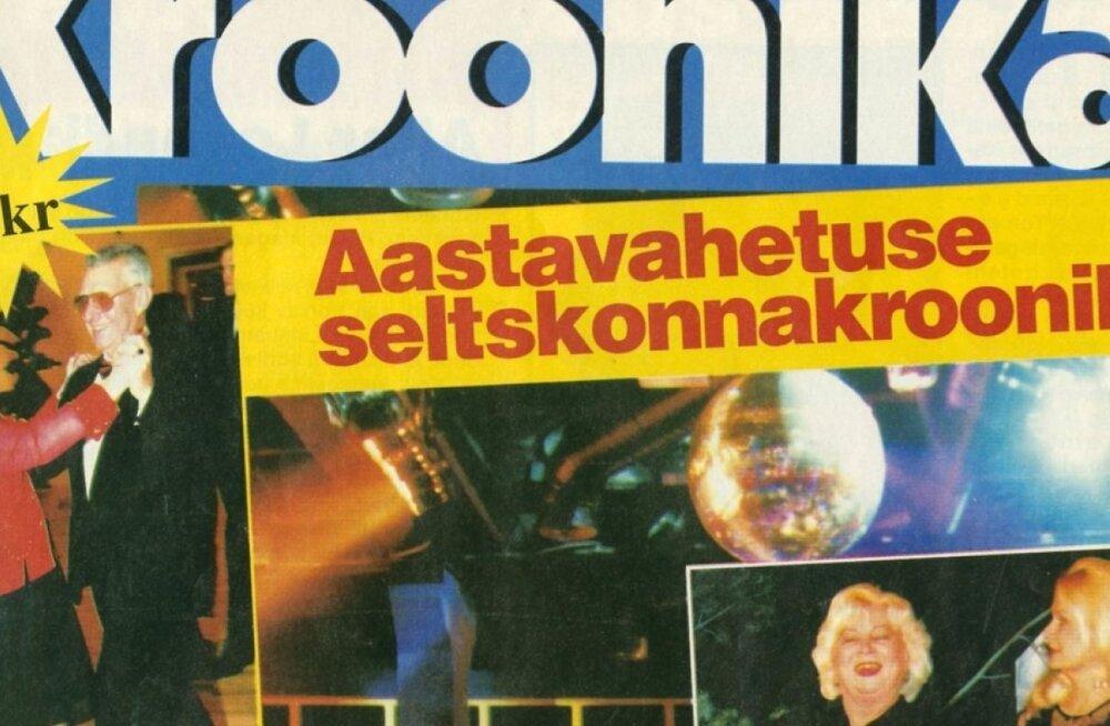 Kõige esimene Kroonika number 10.01.1996