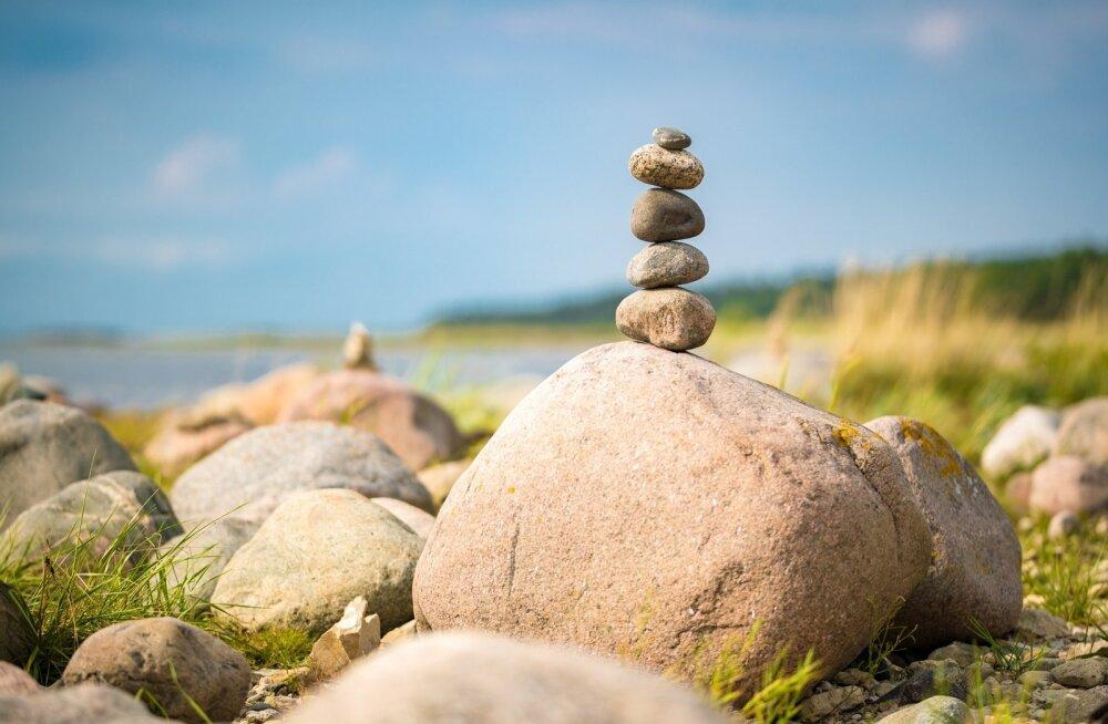 Turistid Hiiumaal: kas need kivid on kõik siia veetud?