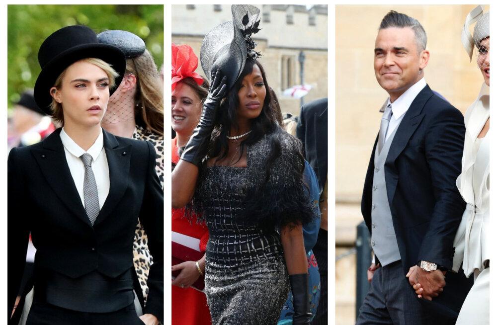 FOTOD   Vaata, millised staarid käisid kuninglikus pulmas