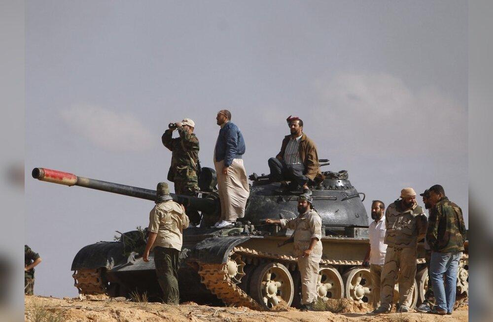 Mõnedel andmetel tabati Liibüas Gaddafi poeg