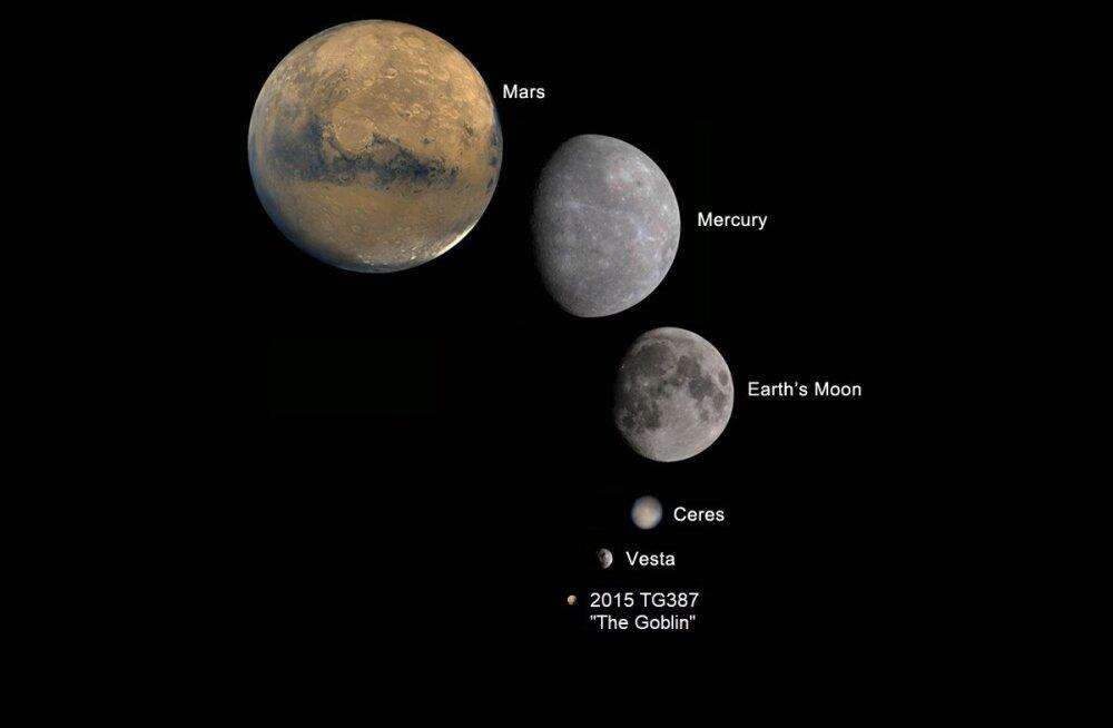 Teadlased leidsid Pluuto tagant kääbusplaneedi ja panid sellele kurjakuulutava nime