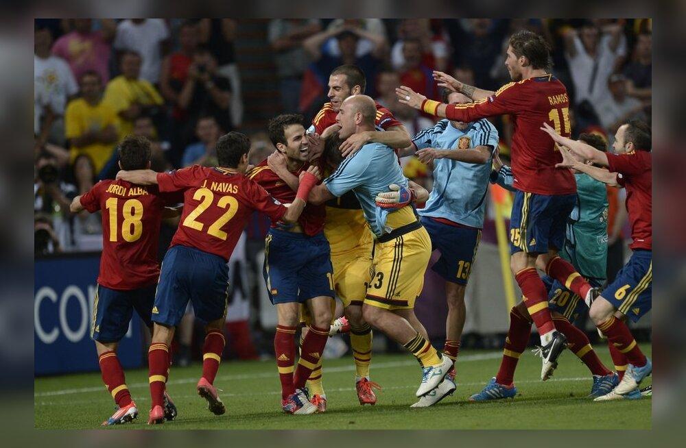 Milline põnevuslahing! Hispaania alistas Portugali penaltitega!