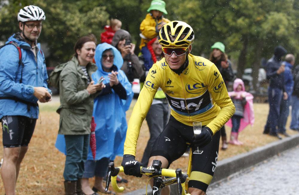 Chris Froome läheb ka Vuelta võitu püüdma