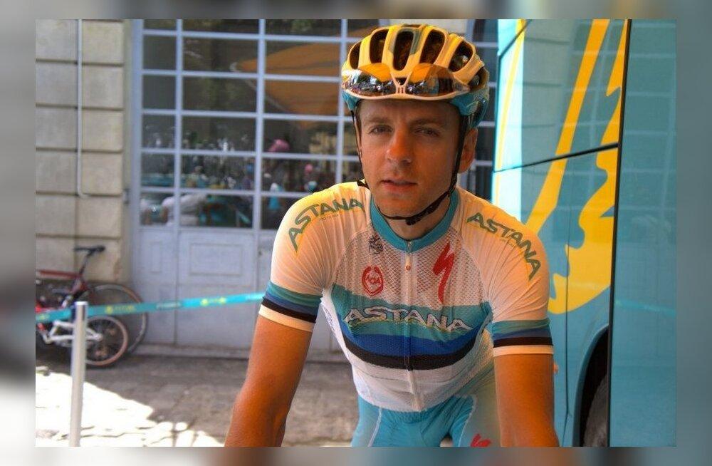 Tanel Kangert, jalgratas
