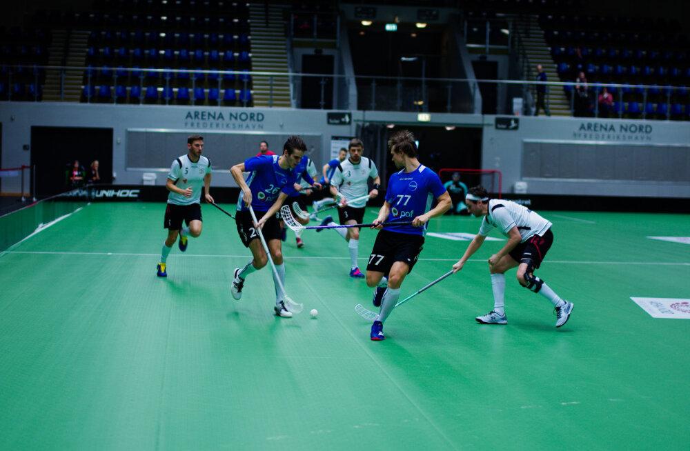 Eesti koondis mängus Suurbritanniaga