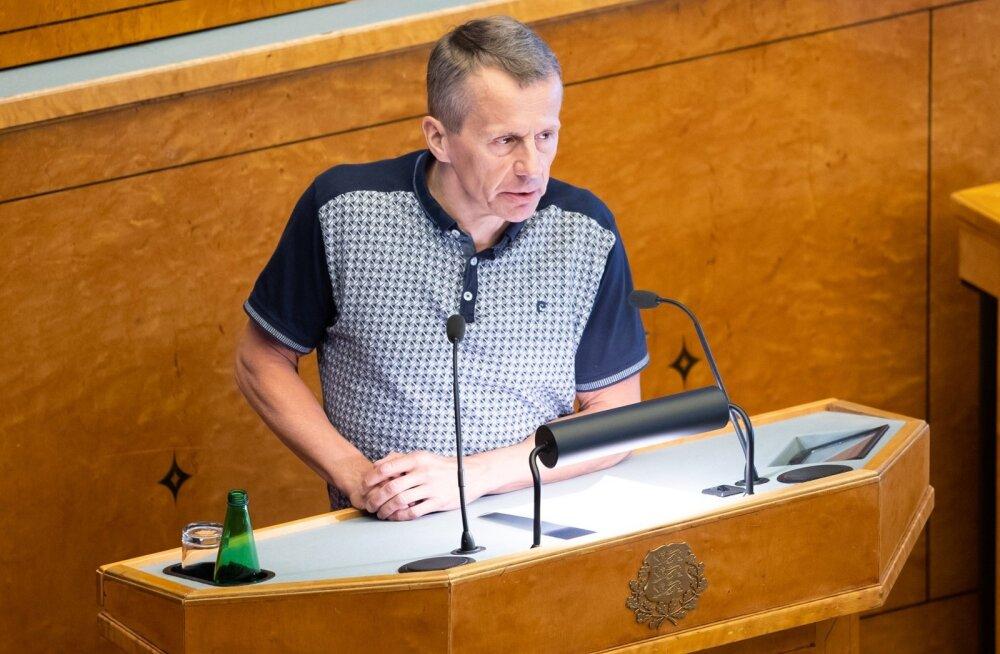 Jürgen Ligi pensionihääletusest: on tavapärane, et vaated EKRE ja Vabaerakonnaga erinevad. See on Talviku ja Rahvaliidu pärand