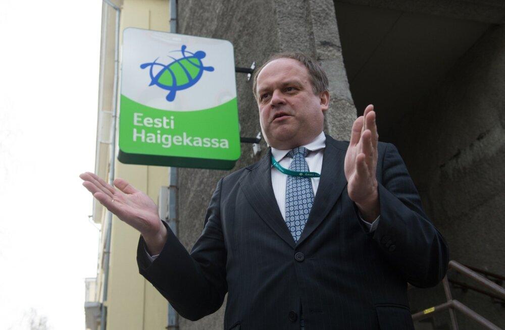 Tanel Ross, eesti haigekassa juht