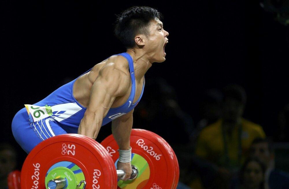 Maailmameister Lu Xiaojun (-81kg)