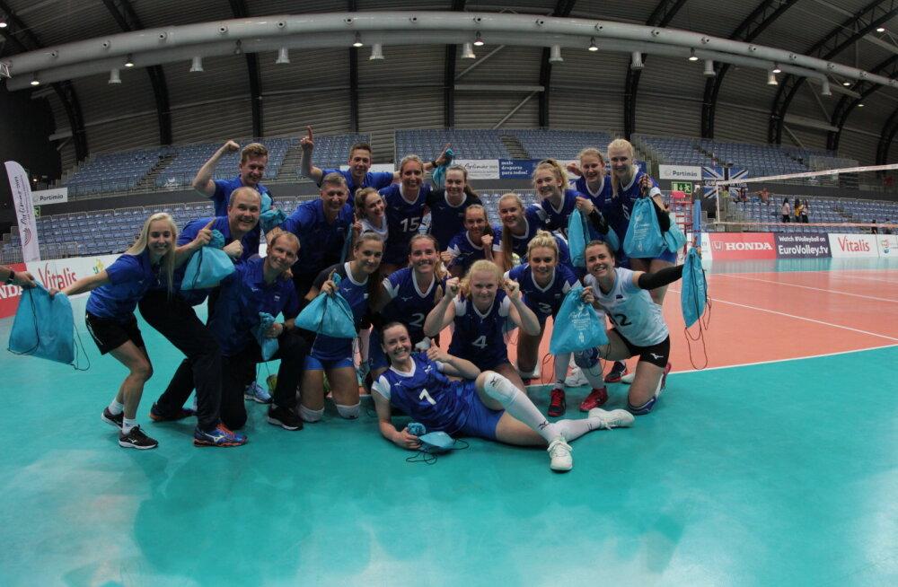 EUROOPA LIIGA | Naised teenisid Portugalis dramaatilise võidu, põhimängijateta meeskond sai veel ühe kaotuse