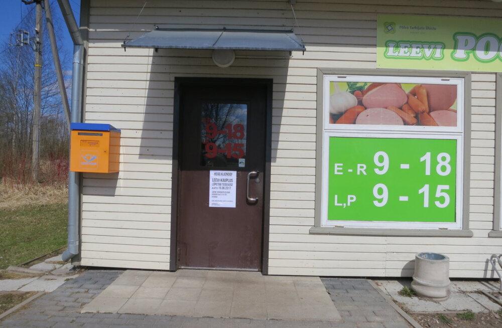 Piirikaubanduse tõttu suletakse kolm Coopi väikepoodi Põlvamaal