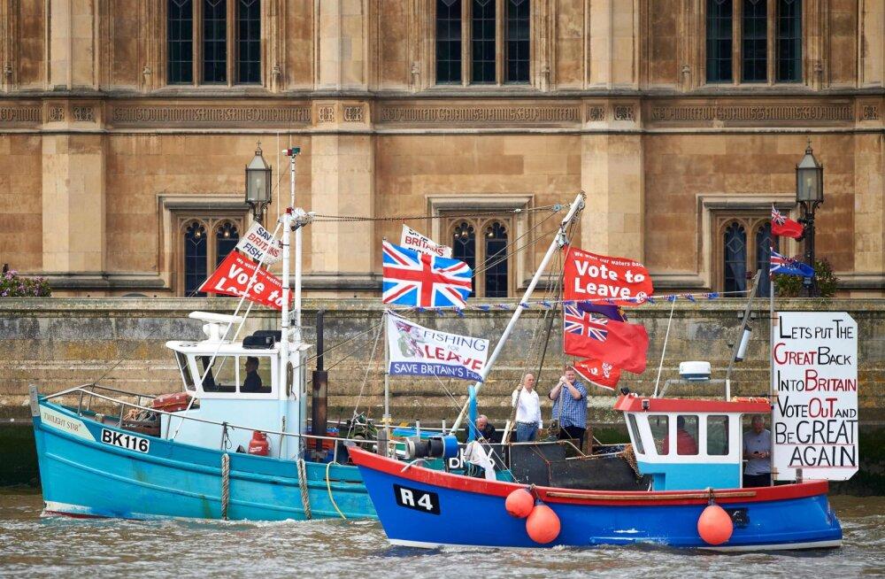 Järjekordne uuring kinnitas brittide süvenevat euroskepsist