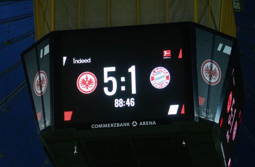 Vähemuses lõpetanud Bayern sai suure kaotuse, üllatusmeeskond kindlustas liidrikohta