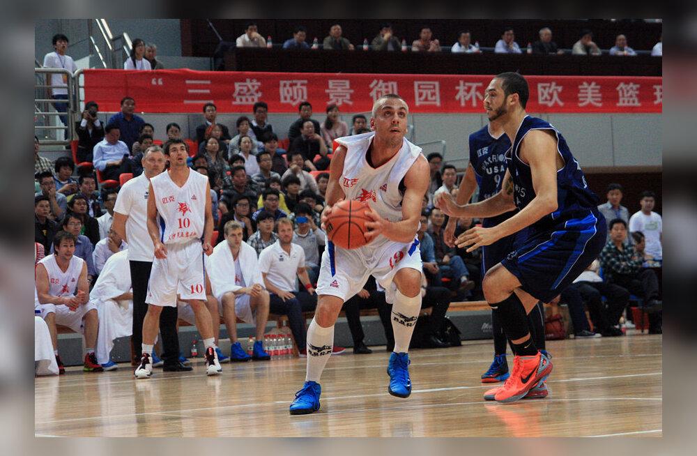 Rocki Hiina reisi esimene mäng lõppes 84:75 võiduga