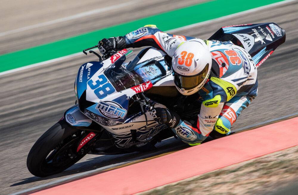 Hannes Soomer stardib homme Aragonis põhisõidule kümnendalt kohalt