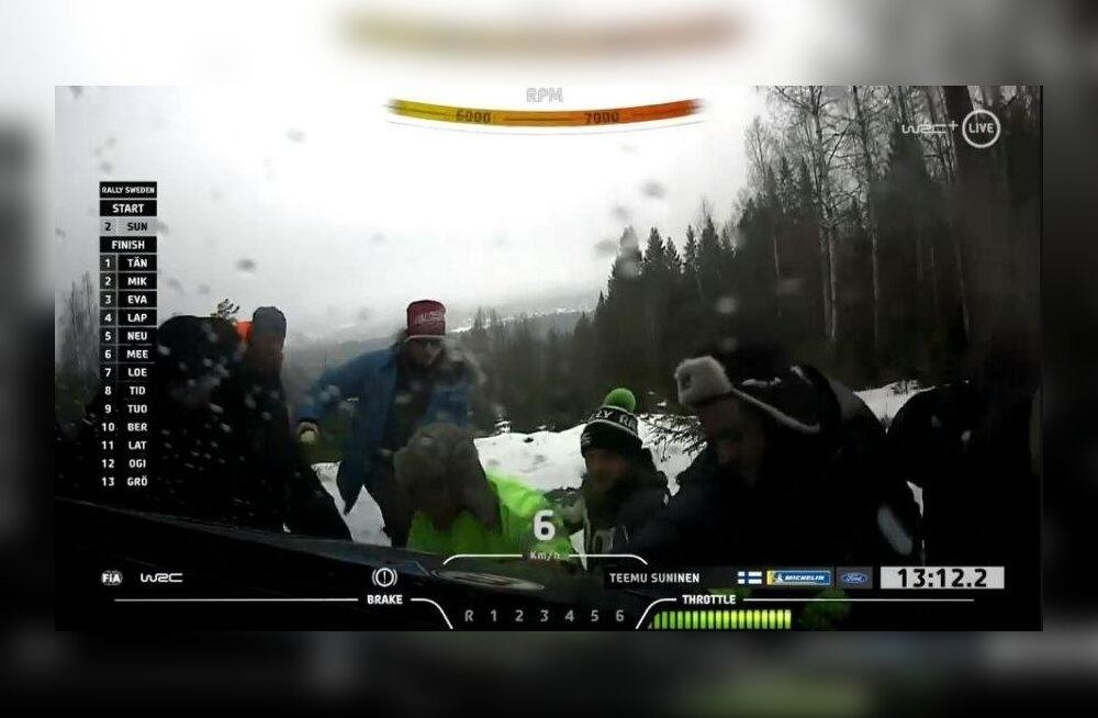 VIDEO | Vaata Tänaku konkurendi eksimust, mis eestlase liidrikohta kindlustas!