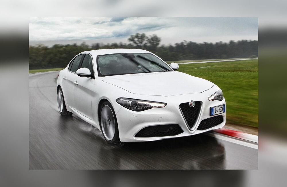 PROOVISÕIT: Alfa Romeo Giulia: kaasahaarav tagaveoline