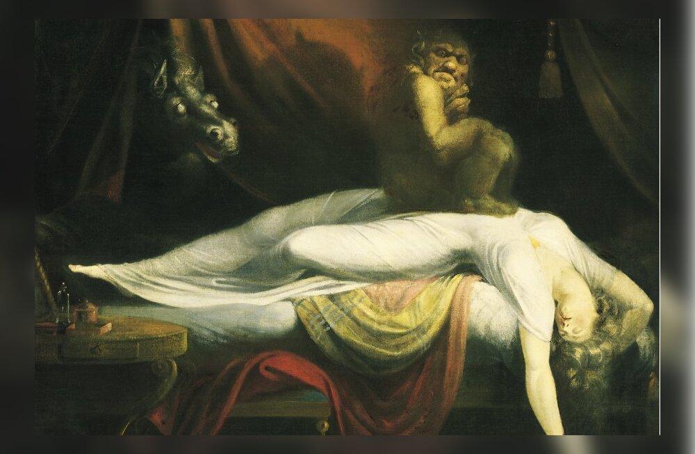 FOLKLOOR: Üks kole kummitus, kes käib öösiti inimesi ja loomi painamas