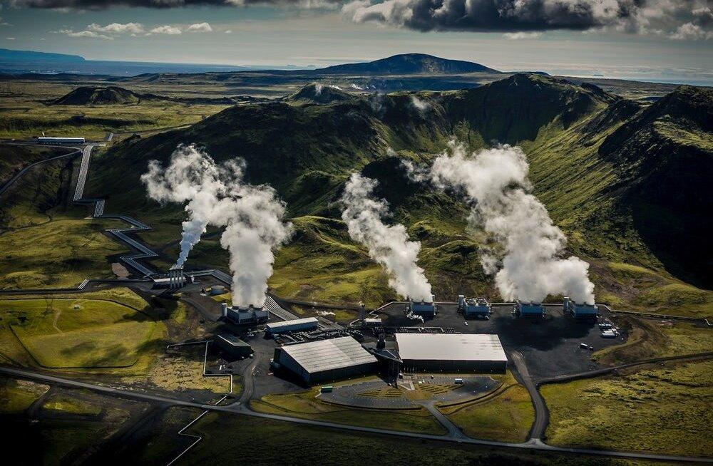 """Maailma esimene """"negatiivse emissiooni"""" elektrijaam muudab süsihappegaasi kiviks"""