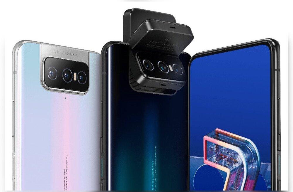 Zenfone 7 Pro: mis oleks, kui sama kaamera teenindaks telefoni esi- ja tagakülge...